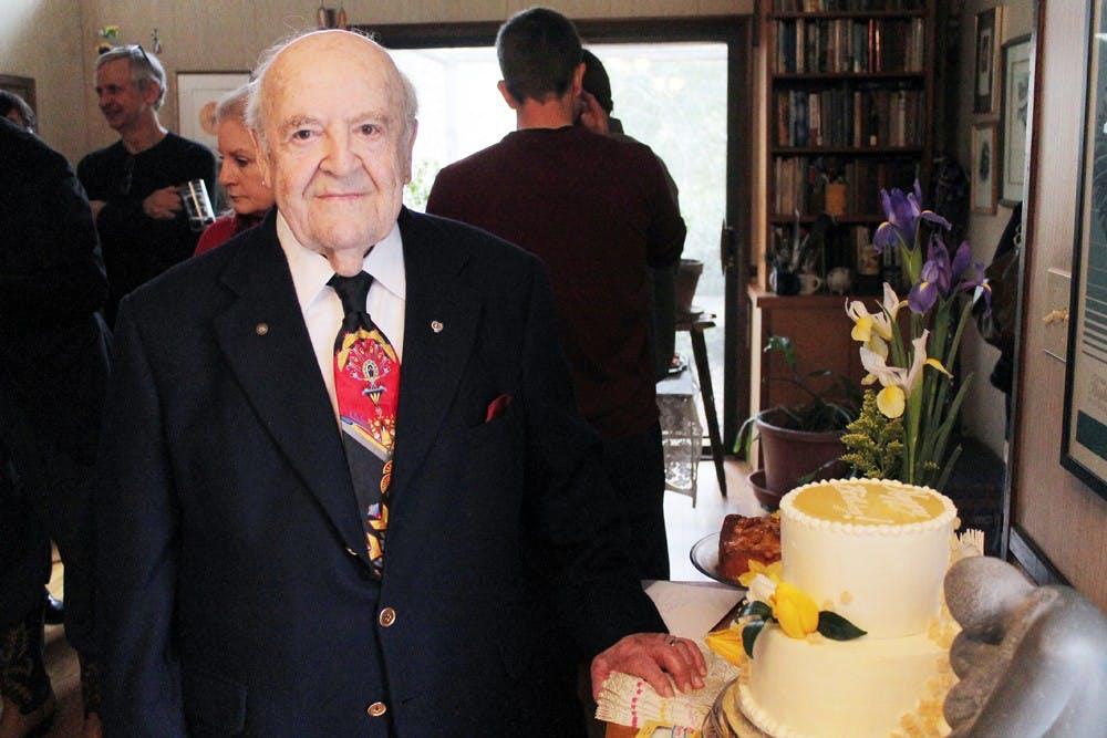 Chapel Hill clothier and native Milton Julian turns 95
