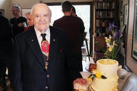 Milton Julian celebrated his 95th birthday this Sunday with a party of family and friends.