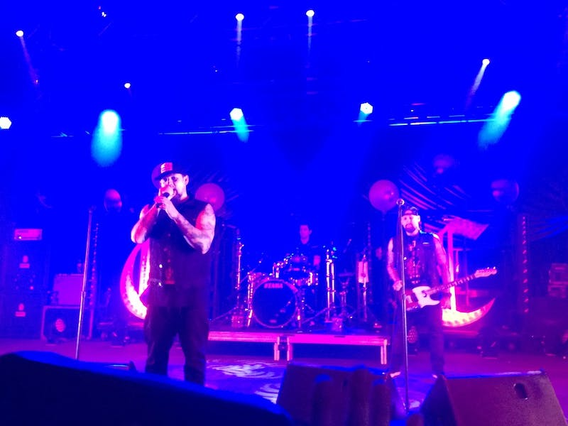 Good Charlotte at The Ritz in Raleigh on Nov. 19