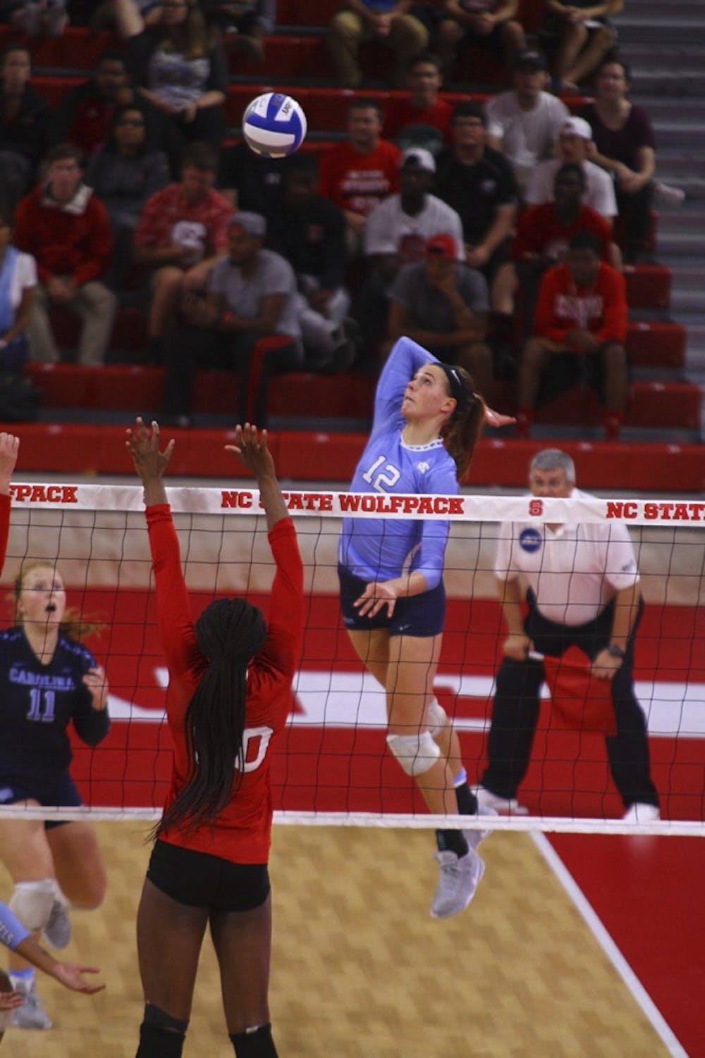 UNC volleyball shows promise for next season in 3-1 win over N.C. State