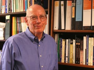 David Godschalk, former UNC professor and Chapel Hill Town Council member, died on Jan. 27. Photo by Anika Anand.