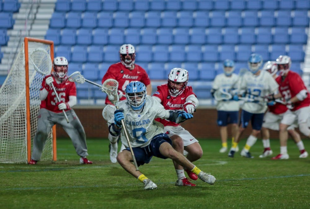 UNC men's lacrosse falls to No. 4 Maryland, 16-9