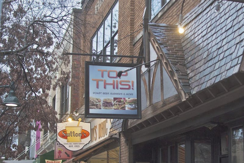 The Roots Bistro, the restaurant replacing Top This! on Franklin Street hopes to open for Valentine's Day Weekend.