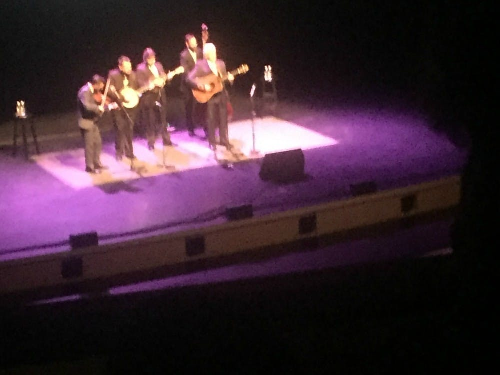 Review: Del McCoury tells stories and plays songs during Memorial Hall concert