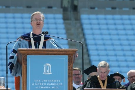 Word on the street: State leaders give Tar Heels finals advice