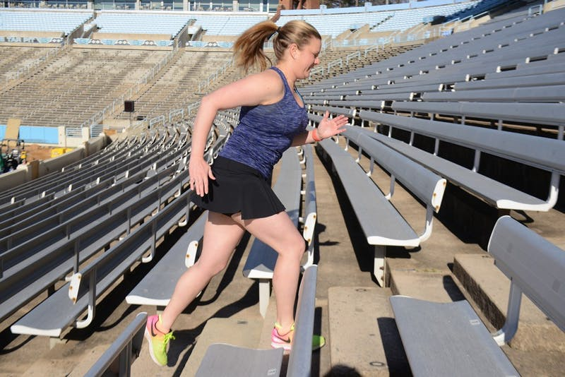 Jennifer Cox is running the Boston Marathon for 261 Fearless, a charity that uses running as a vehicle to empower and unite women.