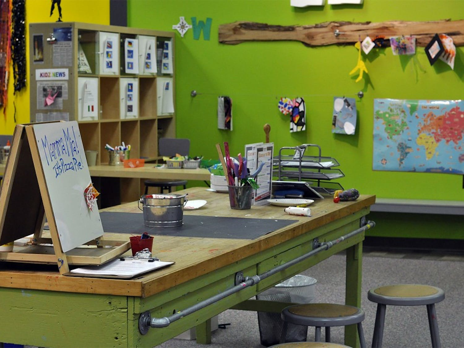 After a few temporary spaces and lots of construction, KidZu Children's Museum will be settling into its new home at University Mall on Friday, Jan. 16.