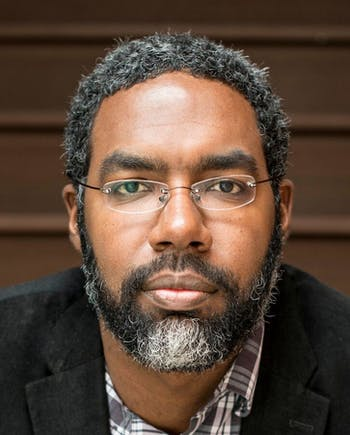 Deen Freelon is an associate professor at the UNC Hussman School of Journalism and Media who specializes in political expressions through digitized media. Photo courtesy of Deen Freelon.