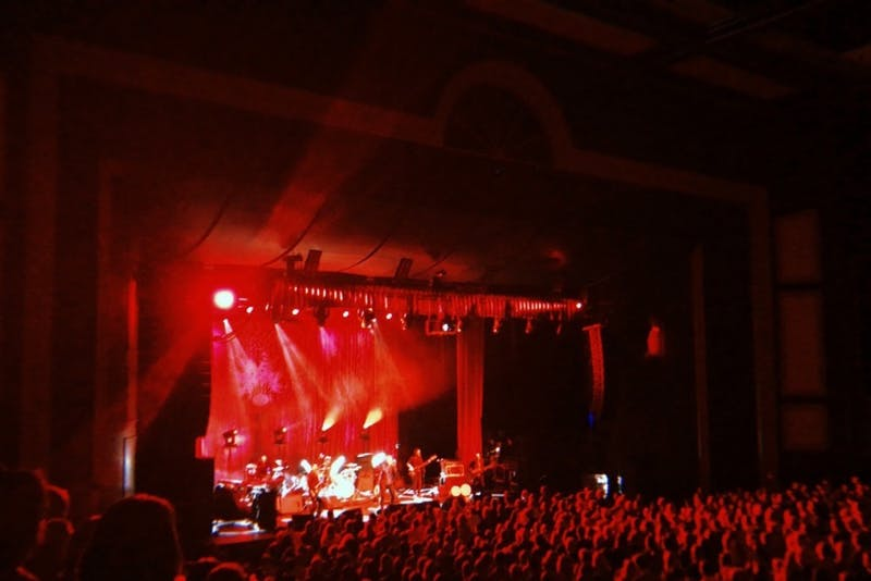 """Robert Plant kicked off his """"Carry Fire"""" Tour in Raleigh."""