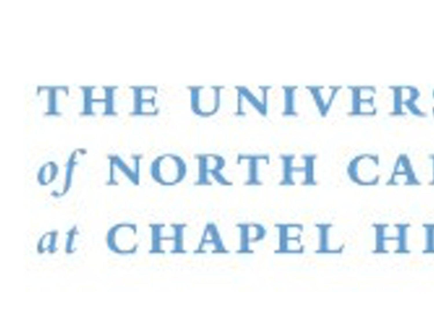 Photo courtesy of UNC-Chapel Hill