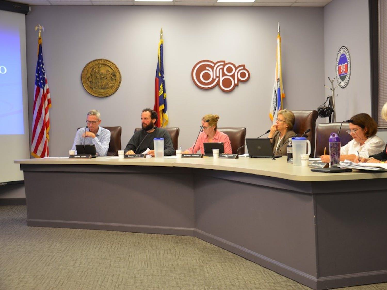 The Carrboro Board of Aldermen met on Sept. 13.