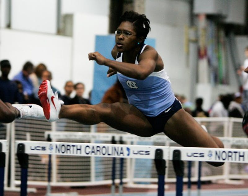 All-ACC  Vanneisha Ivy owns the second-fastest 60-meter hurdle time in UNC history. DTH file/Phong Dinh