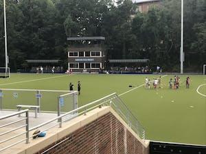 The new North Carolina field hockey stadium located on South Campus.