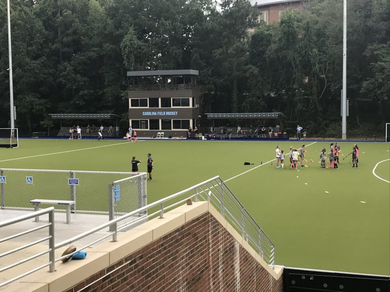 The new North Carolina field hockey stadium located on South Campus.