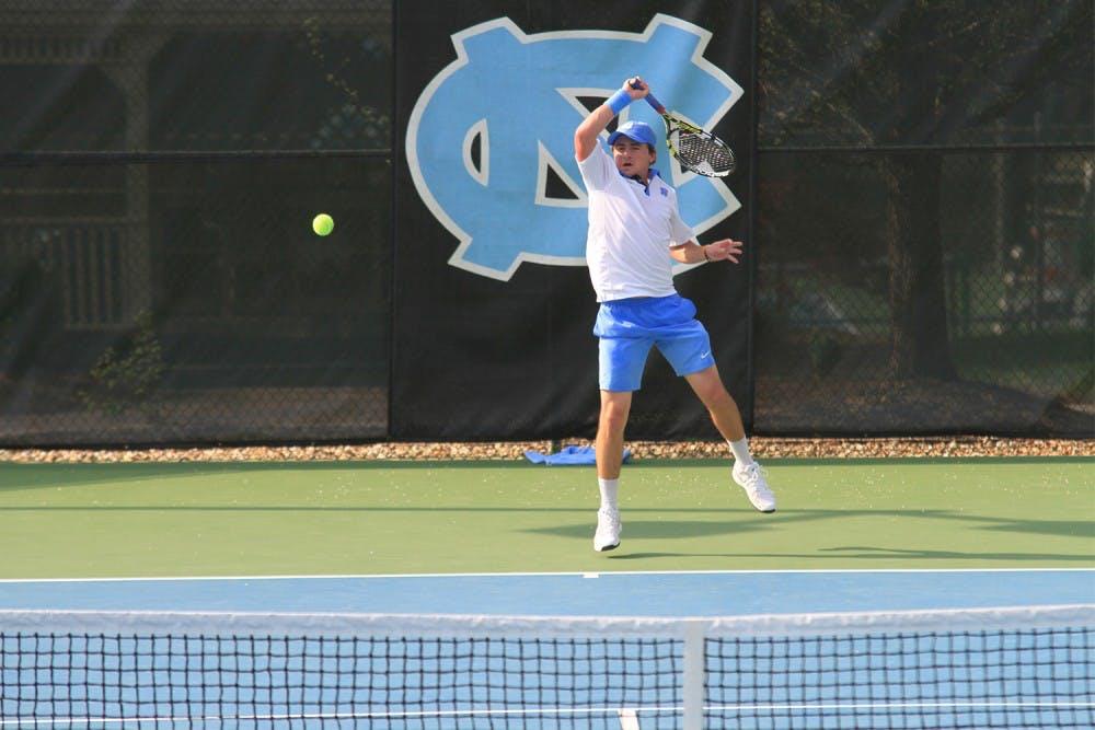 UNC men's tennis player Schneider thrives off consistency