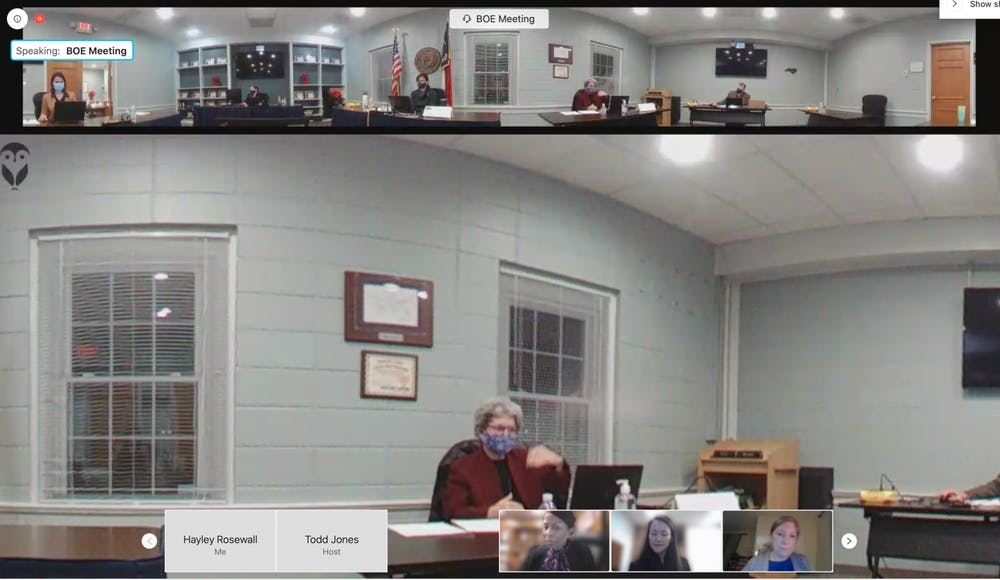 <p>Members of the OC Board of Education met virtually on Monday, Dec. 14, 2020 to discuss COVID-19 updates and transitions to hybrid learning.</p>