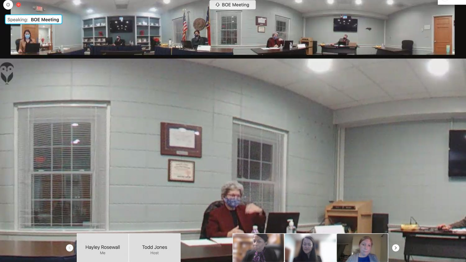 Members of the OC Board of Education met virtually on Monday, Dec. 14, 2020 to discuss COVID-19 updates and transitions to hybrid learning.