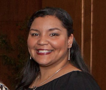 Qua Lynch finished her first year as the Native Student Engagement Coordinator (courtesy of Jennifer Hollar).