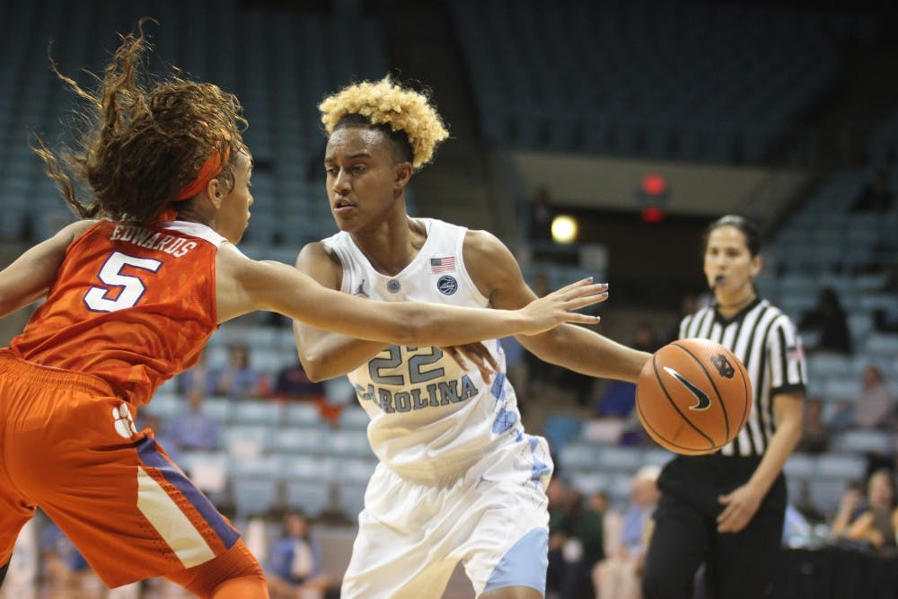 UNC women's basketball grinds out conference win, 59-52, over Clemson