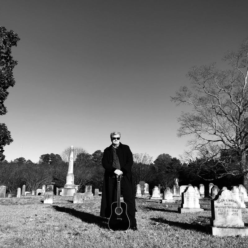 "David Burney will be performing at the ArtsCenter in Carrboro for ""Hello I'm Johnny Cash"" on Friday, Jan. 24 - 26, 2020. Photo courtesy of Annie Burney."