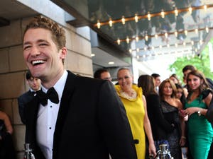 """Matthew Morrison of the television show """"Glee"""" arrives at the Goodman Theatre Gala in Chicago, Illinois, on May 21, 2011. Photo courtesy of Chris Sweda/Chicago Tribune/MCT"""