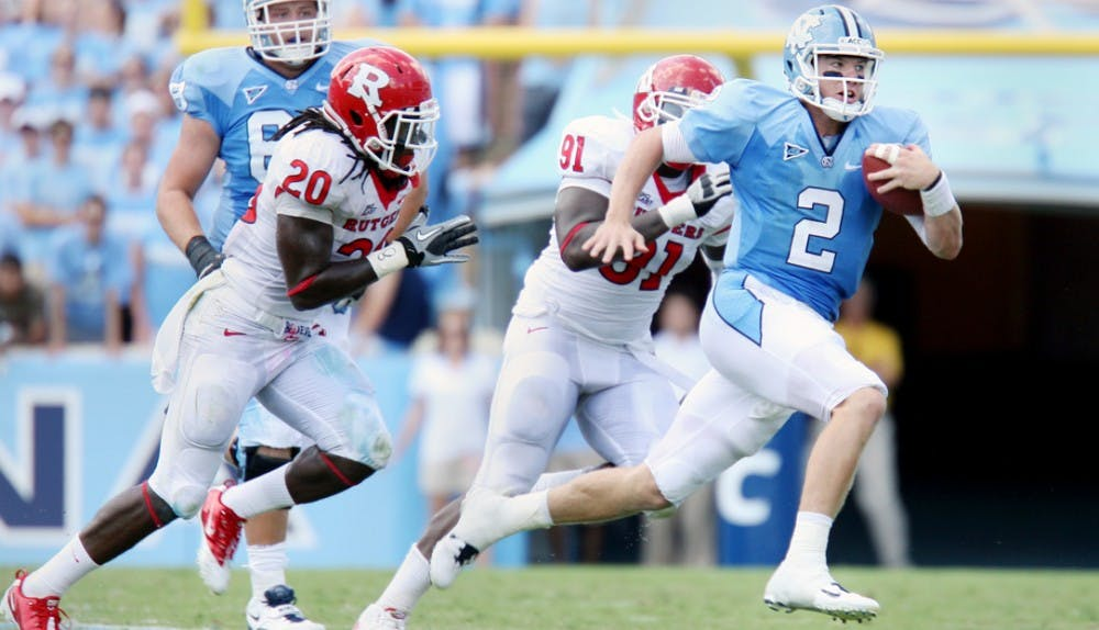 Tar Heels tormented by turnovers against Rutgers