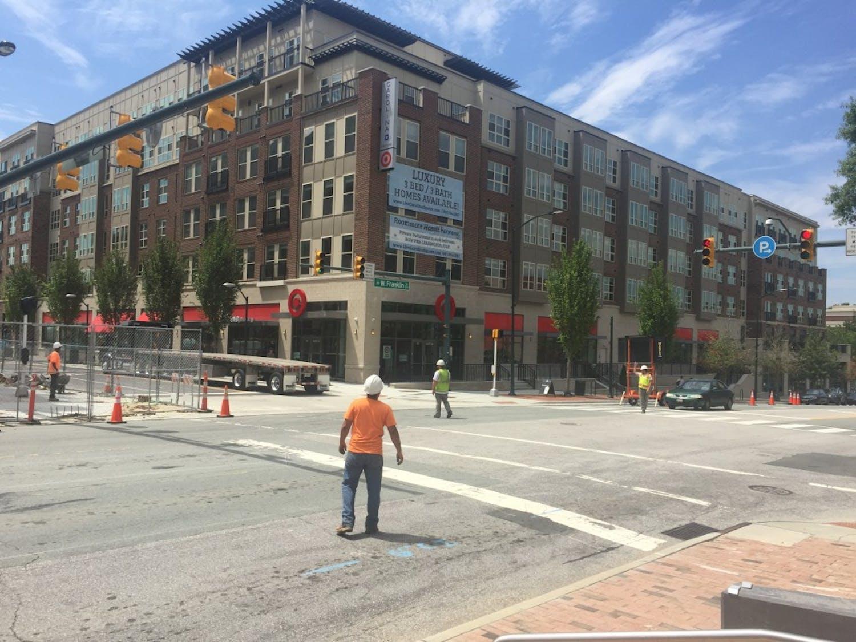 Carolina Square's Target opened July 18.