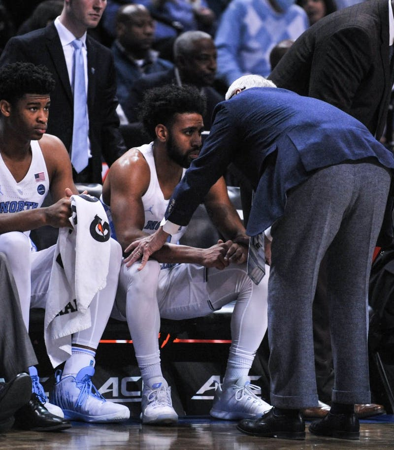 The Tar Heels lost to the Blue Devils 93-83 on Friday night at the Barclays Center in Brooklyn in the semi-finals of the ACC Tournament. Duke will advance to the championship on Saturday.