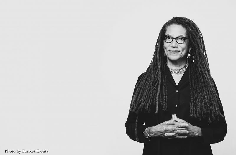 Nikky Finney, author of six poetry collections, and recipient of the 2011 National Book Award for Poetry will be visiting campus from Feb 23 to Feb 28 as the 2020 Frank B. Hanes Writer-In-Residence. Photo courtesy of Nikky Finney.