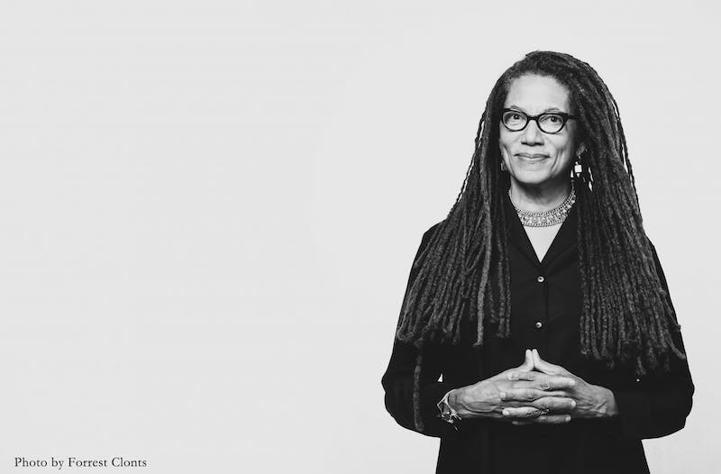 Nikky Finney,author of six poetry collections, and recipient of the 2011 National Book Award for Poetry will be visiting campus from Feb 23 to Feb 28 as the 2020 Frank B. Hanes Writer-In-Residence. Photo courtesy of Nikky Finney.