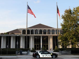 The North Carolina General Assembly building in Raleigh, NC, stands on Sept. 28.