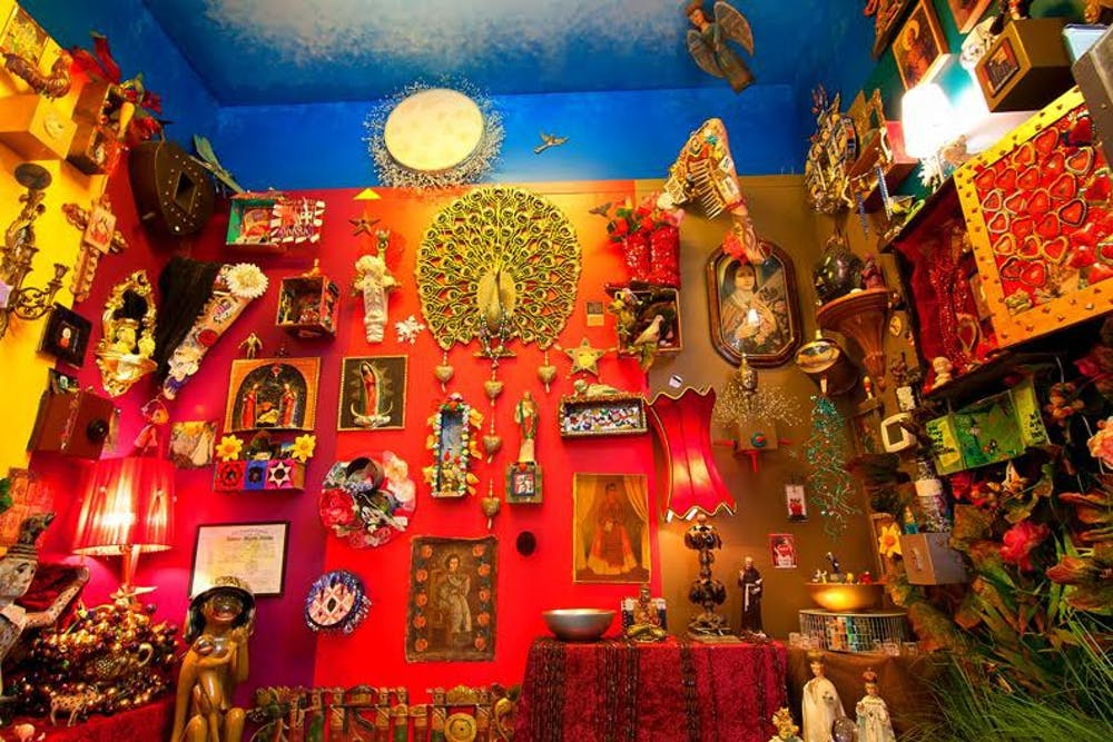 The Shrine Room in Carrboro is meant to inspire