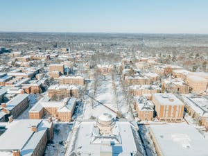 Chapel Hill received up to 10 inches of snow on Jan. 17, leading to two and a half days of cancelled classes for UNC students.