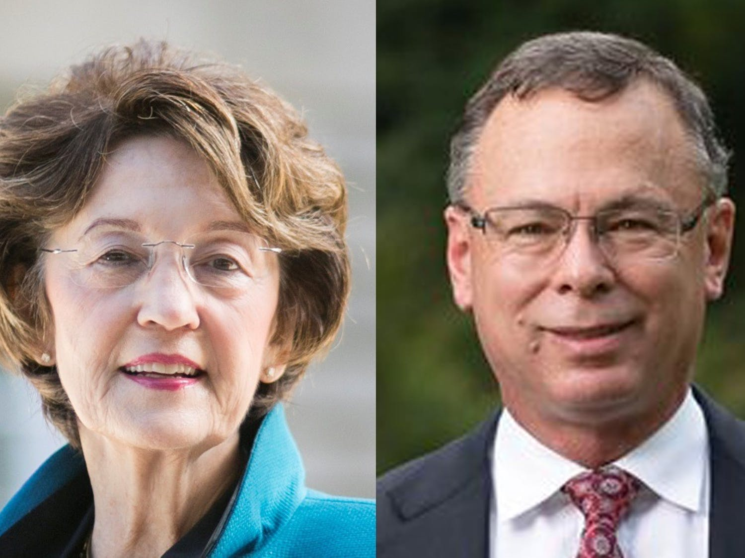 Incumbent Democrat Elaine Marshall (left) and Republican E.C. Sykes (right) are the candidates for N.C.  Secretary of State. Photos courtesy of Marshall and Sykes.