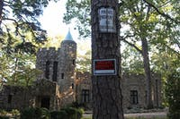 Gimghoul Castle, at the end of Gimghoul Rd. on north campus, is the heart of mystery and secrets for the rumored secret society.