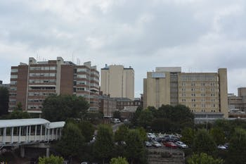 UNC Hospitals are expanding their area and also becoming more crowded.
