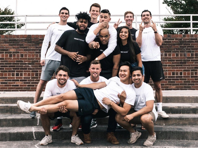 Triad Studios Team picture. Photo courtesy of Triad Studios.