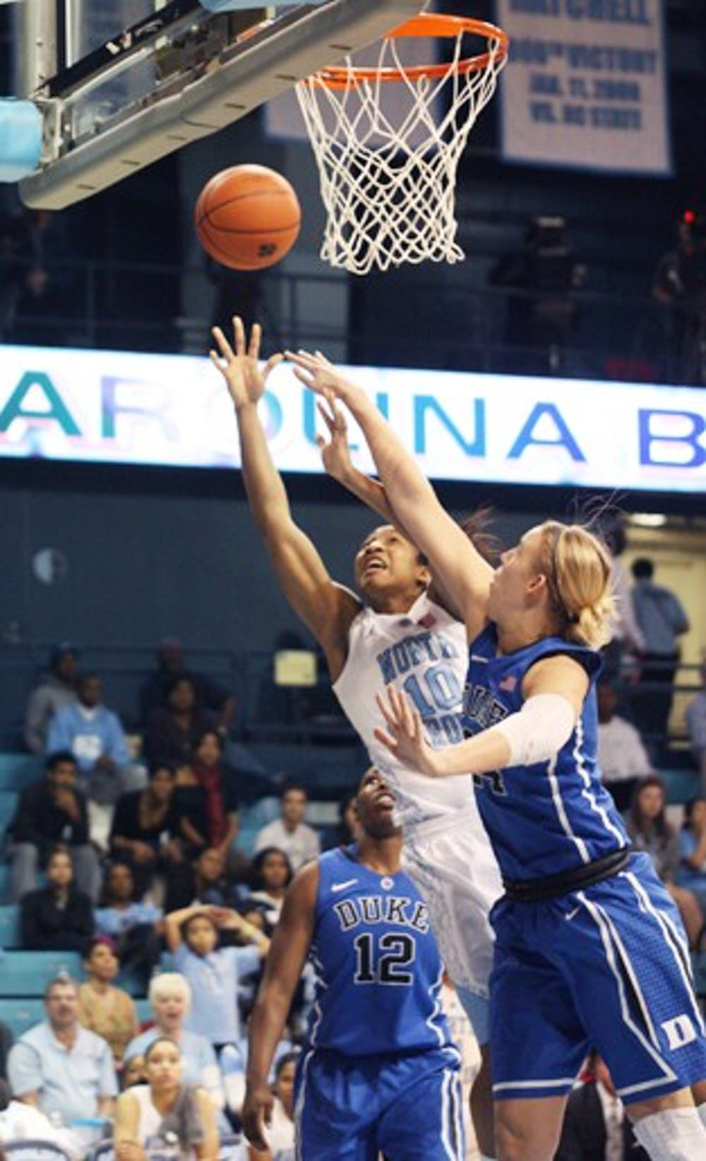 Women's basketball ACC regular season championship showcases centers Shegog, Williams