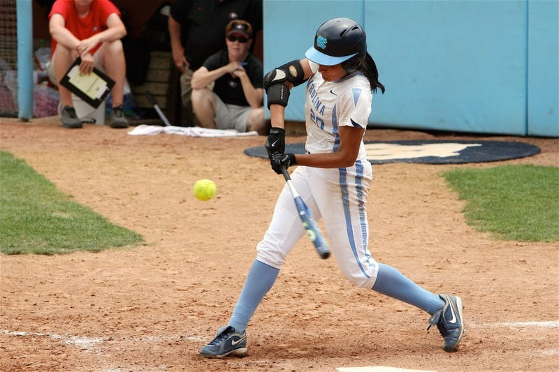 "Junior pitcher Danielle Spaulding homered and pitched six-plus strong innings"" but it wasn?t enough to stave off elimination against Georgia."