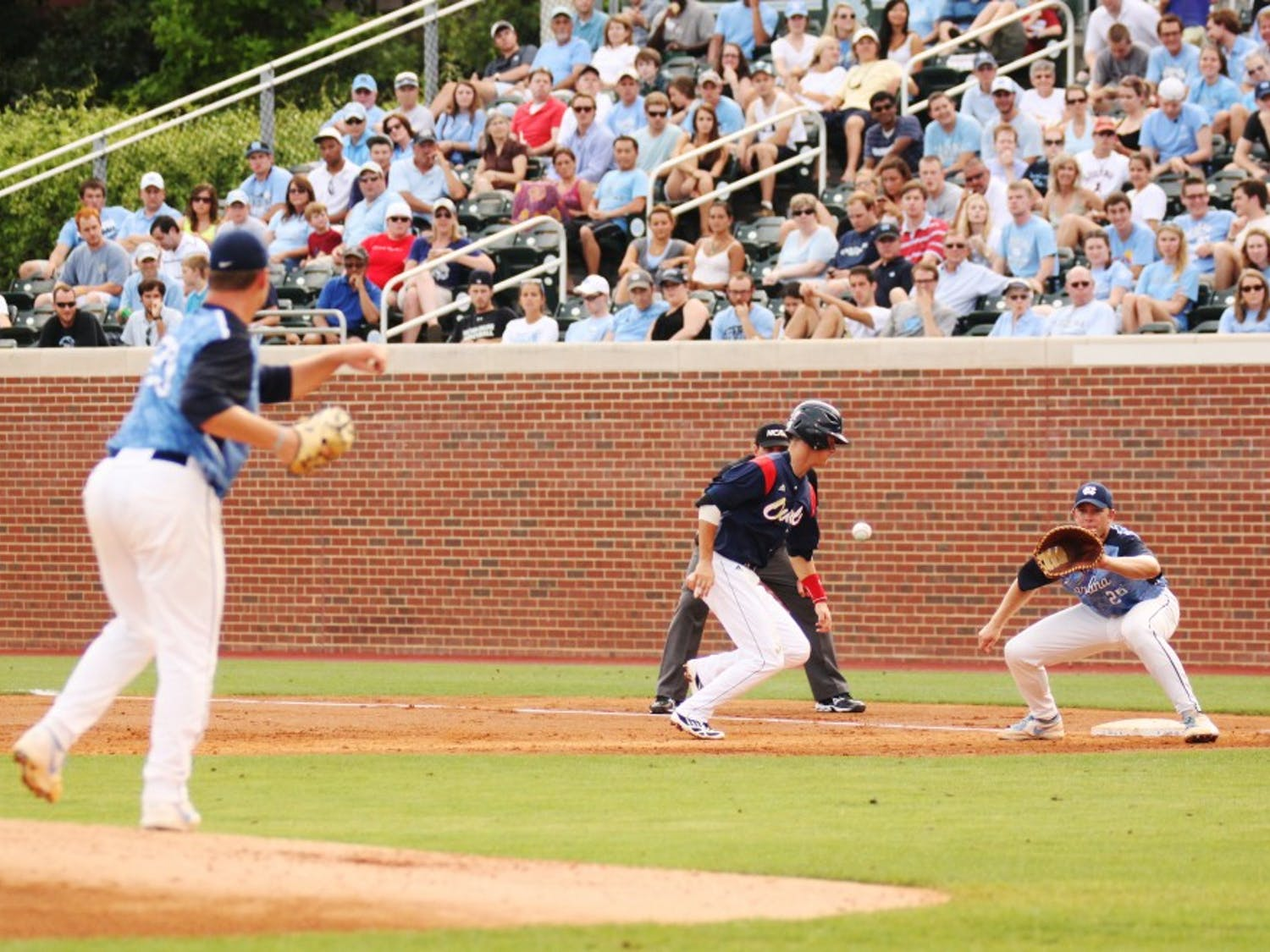 UNC fell 3-2 to Florida Atlantic on Sunday night.