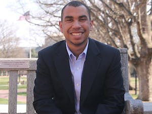 Trey Mangum, a junior Journalism major, is the new president of the Black Student Movement.