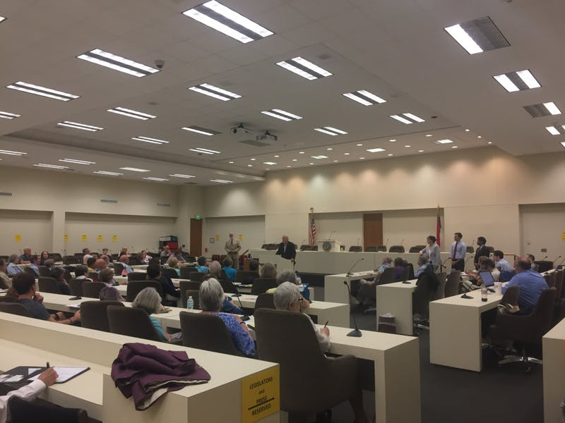 Common Cause N.C. held a public hearing on June 5 to raise awareness of a bill that would create a nonpartisan redistricting commission.