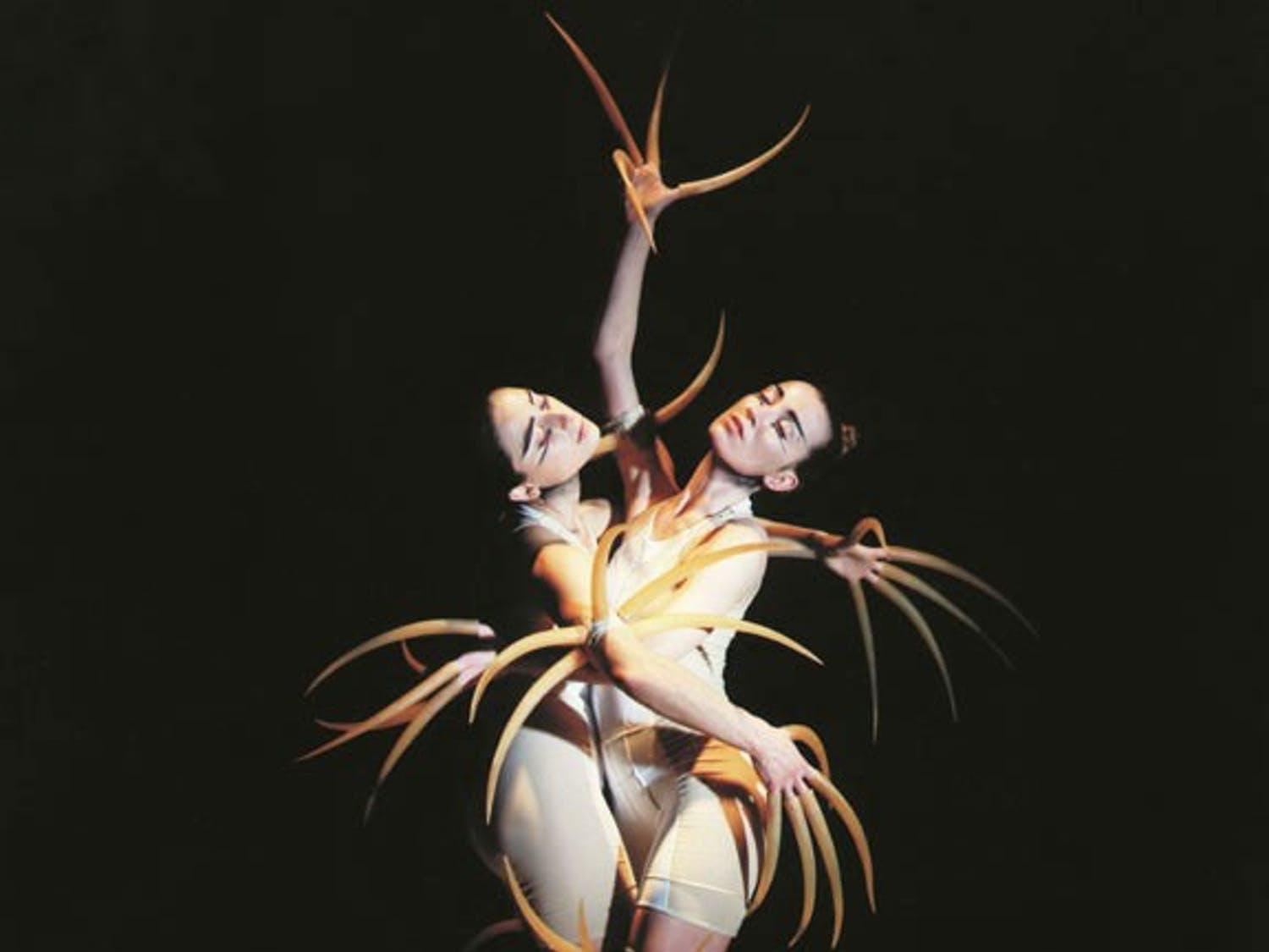 """Courtesy of Carolina Performing Arts. Members of Compagnie Marie Chouinard perform. The company will perform as part of """"The Rite of Spring at 100"""" on Sunday."""