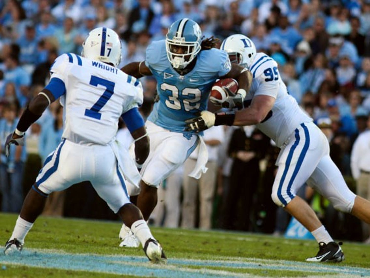Junior running back Ryan Houston ran for a career-high 164 yards in UNC's last game. DTH File/Phong Dinh
