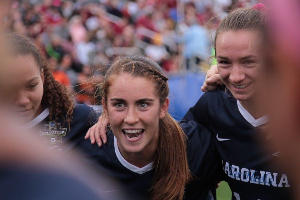 Three UNC women's soccer players selected in 2019 NWSL Draft