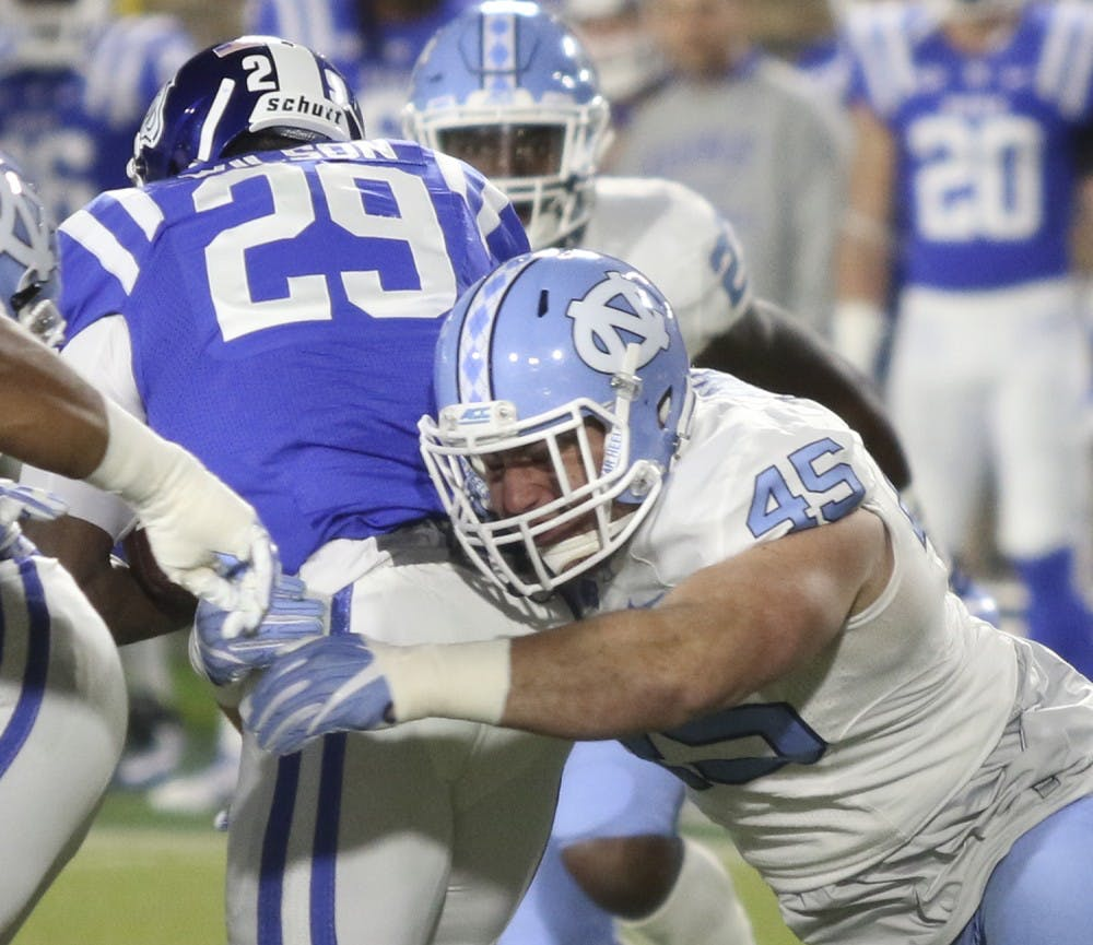 UNC football prepares to face The Citadel's triple-option offense