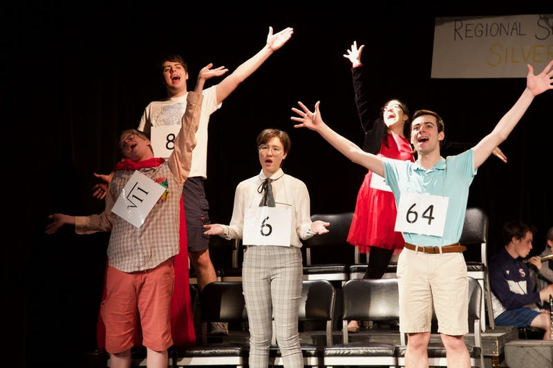 Pauper Players' production of The 25th Annual Putnam County Spelling Bee will be at The ArtsCenter on Thursday, Feb. 20-23, 2020. Photo courtesy of Zoë Lord.