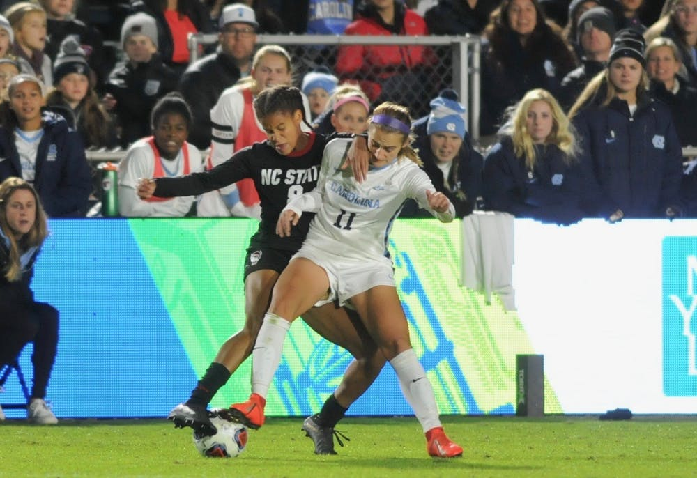 UNC womens's soccer defeats N.C. State, 3-0, advances to ACC Finals