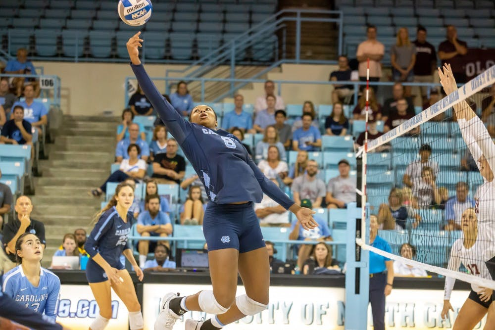 UNC volleyball secures two wins at Carolina Classic tournament
