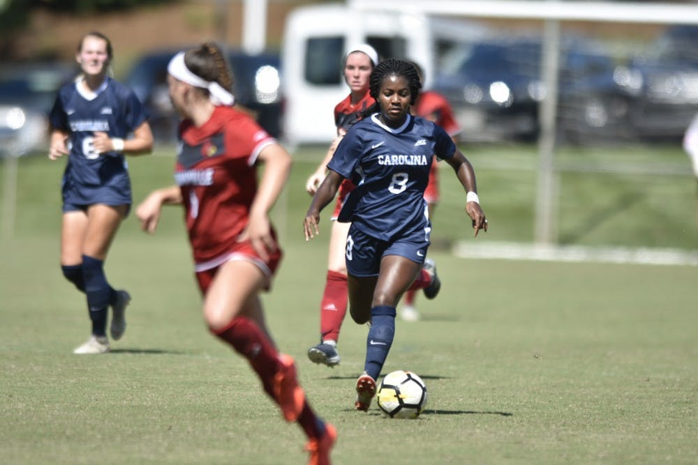 UNC women's soccer spreads the wealth in 7-1 win over Syracuse